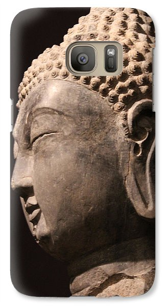 Galaxy Case featuring the photograph The Buddha 2 by Lynn Sprowl