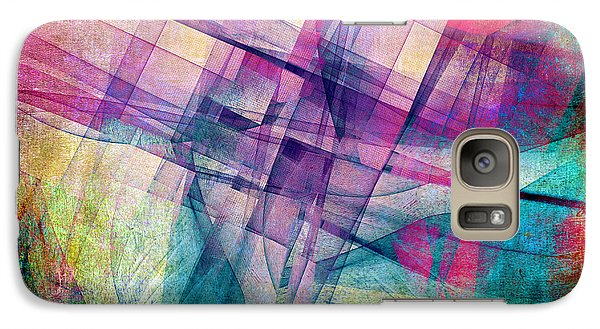 Galaxy Case featuring the digital art The Building Blocks by Angelina Vick