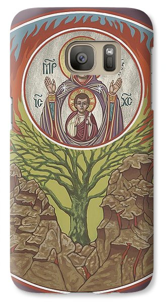 Galaxy Case featuring the painting The Burning Bush 249 by William Hart McNichols