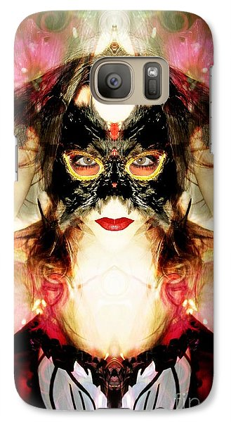 Galaxy Case featuring the photograph The Burning Light Within by Heather King
