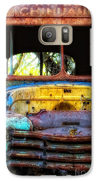 Galaxy Case featuring the photograph The Bus Stops Here by Erika Weber