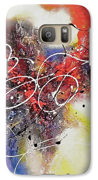 Galaxy Case featuring the painting The Calm Before The Storm by Patricia Lintner