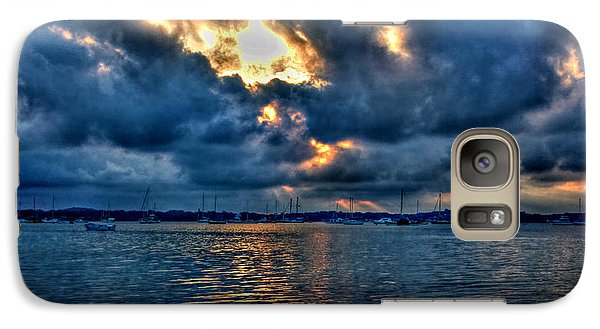 Galaxy Case featuring the photograph The Calm Before The Storm by Paul Svensen