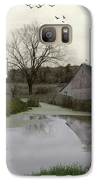 Galaxy Case featuring the photograph The Calm by Mary Lou Chmura