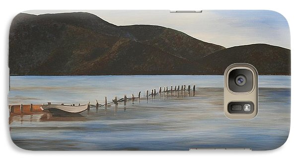 Galaxy Case featuring the painting The Calm Water Of Akyaka by Tracey Harrington-Simpson