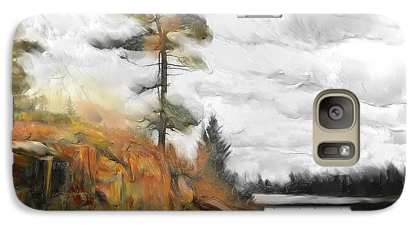 Galaxy Case featuring the painting The Canadian Wild by Bob Salo