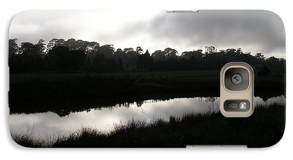 Galaxy Case featuring the photograph The Canal by Bev Conover