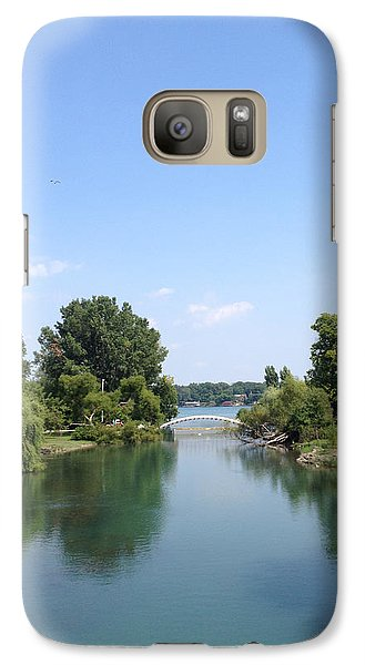 Galaxy Case featuring the photograph The Canal by Michael Rucker
