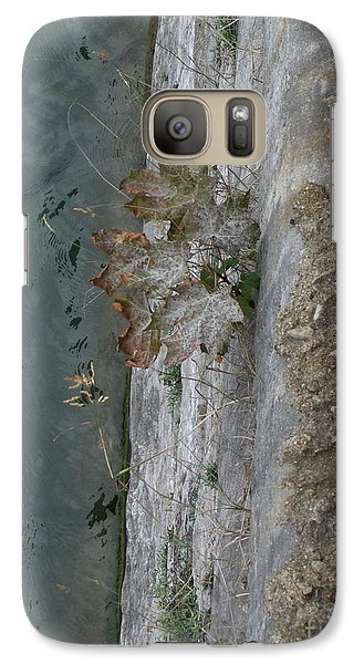 Galaxy Case featuring the photograph The Canal Water by Brenda Brown