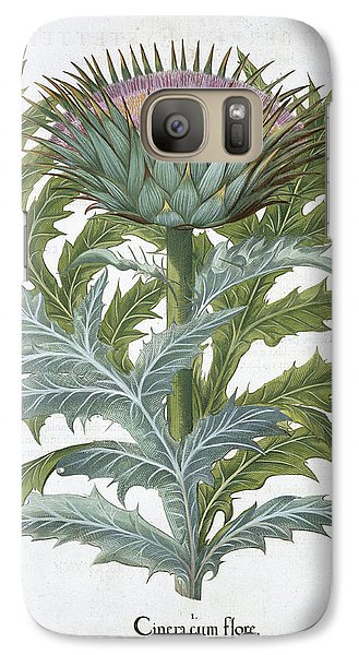 Artichoke Galaxy S7 Case - The Cardoon, From The Hortus by German School