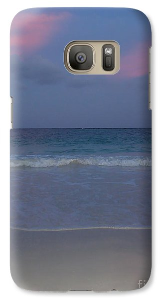 Galaxy Case featuring the photograph The Caribbean Sunset by Ze  Di