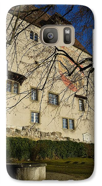 Galaxy Case featuring the photograph The Castle Greets A Sunny Day by Felicia Tica