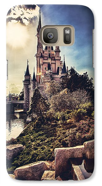Galaxy Case featuring the photograph The Castle by Joshua Minso