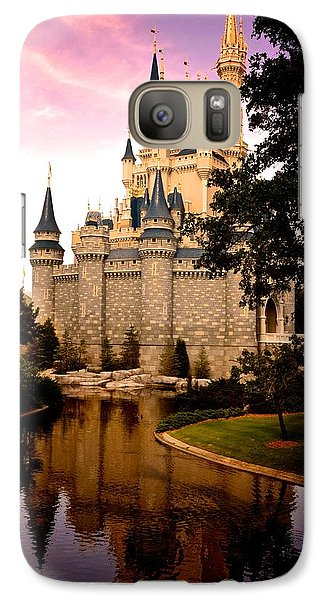 Galaxy Case featuring the photograph The Castle by Michael Albright