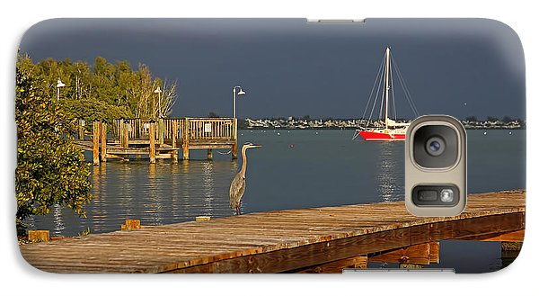 Galaxy Case featuring the photograph The Casual Observer by HH Photography of Florida