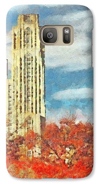 The Cathedral Of Learning At The University Of Pittsburgh Galaxy S7 Case