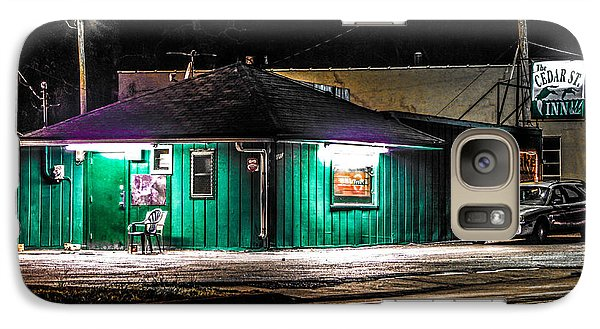 Galaxy Case featuring the photograph The Cedar St. Inn by Ray Congrove