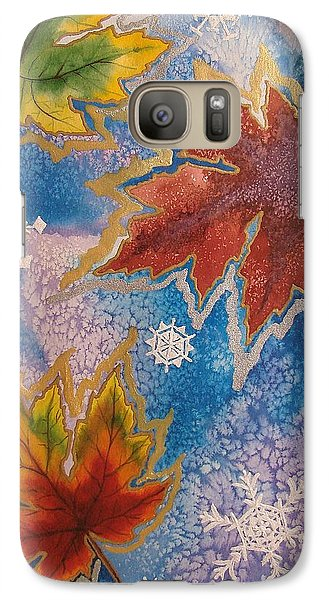 Galaxy Case featuring the painting The Change by Margaret Bobb