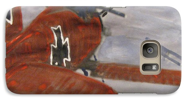 Galaxy Case featuring the painting The Chase by Vikram Singh
