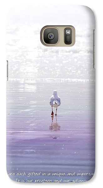Galaxy Case featuring the photograph The Chosen One by Holly Kempe