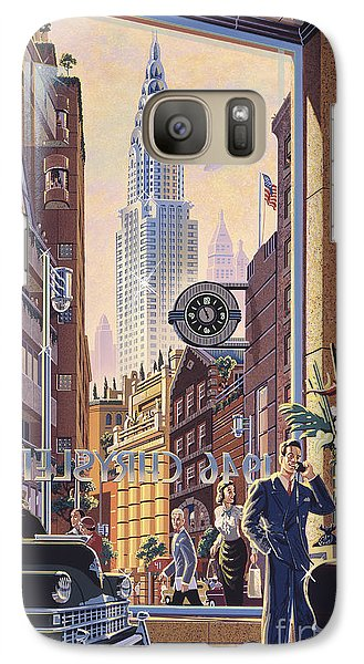 Chrysler Building Galaxy S7 Case - The Chrysler by Michael Young