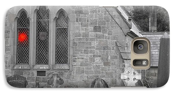 Galaxy Case featuring the photograph The Church 2 by Christopher Rowlands