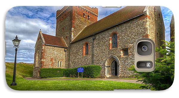 Galaxy Case featuring the photograph The Church At Dover Castle by Tim Stanley
