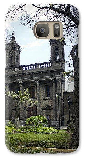 Galaxy Case featuring the photograph The Church Green by Lynn Palmer