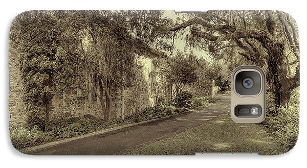 Galaxy Case featuring the photograph The Church Lane by Elaine Teague
