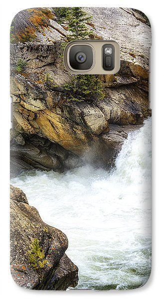 Galaxy Case featuring the photograph The Chute by The Forests Edge Photography - Diane Sandoval