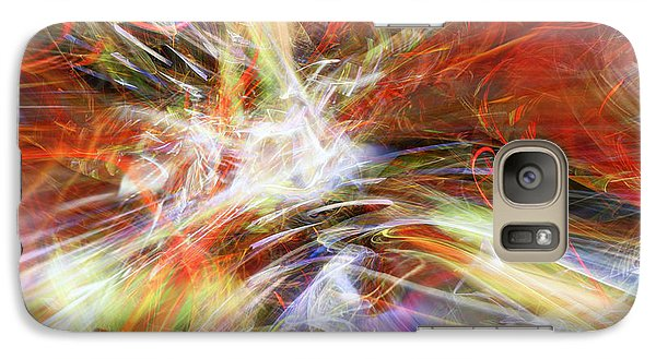 Galaxy Case featuring the digital art The Cleansing by Margie Chapman