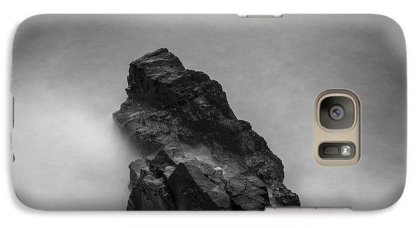 Galaxy Case featuring the photograph The Cliff by Gunnar Orn Arnason