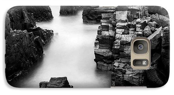 Galaxy Case featuring the photograph The Cliffs by Gunnar Orn Arnason