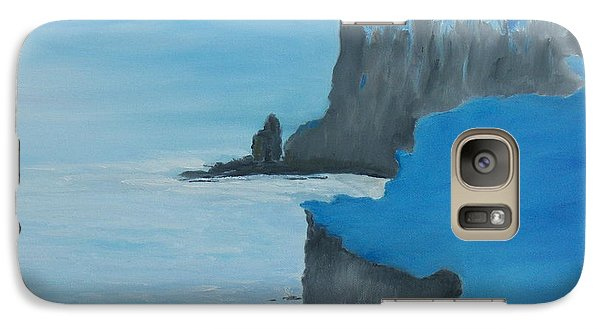 Galaxy Case featuring the painting The Cliffs Of Moher by Conor Murphy