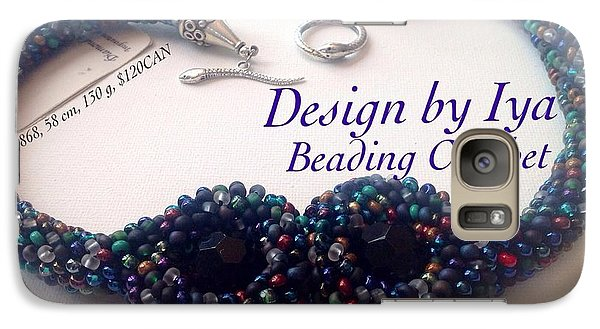Galaxy Case featuring the jewelry The Cobra by Iya Carson