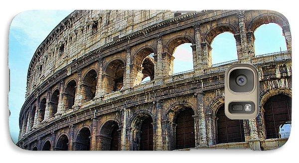 Galaxy Case featuring the photograph The Coliseum by Oscar Alvarez Jr