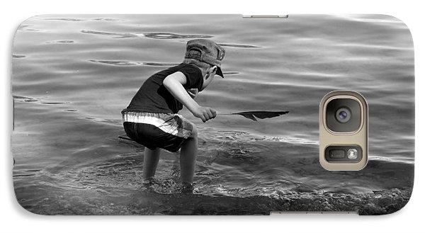 Galaxy Case featuring the photograph  The Collector by Debbie Oppermann
