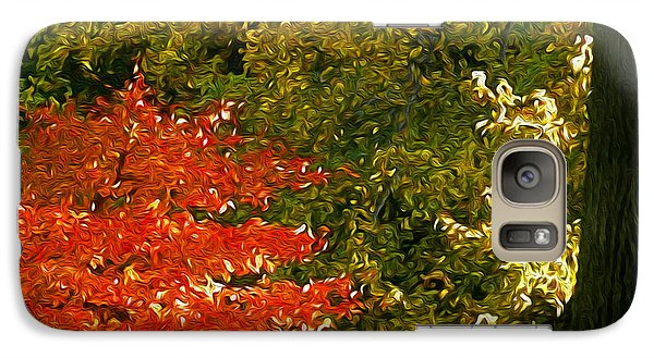 Galaxy Case featuring the photograph The Color Of Autumn by Yue Wang