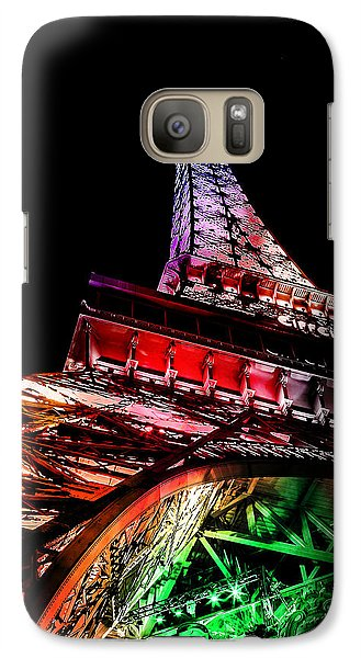 Eiffel Tower Galaxy S7 Case - The Color Of Love by Az Jackson