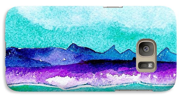 Galaxy Case featuring the painting The Colorado River by Anne Duke