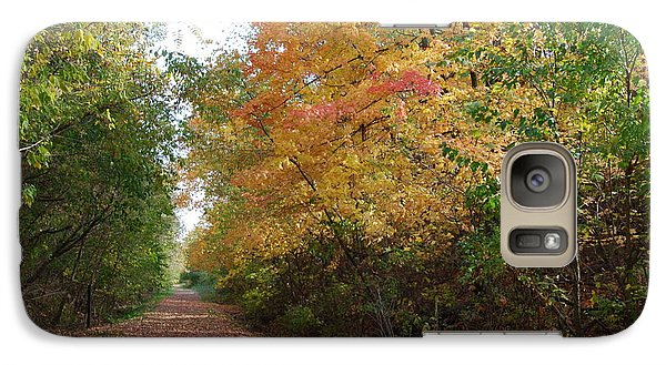 Galaxy Case featuring the photograph The Colors Of Fall by Ramona Whiteaker