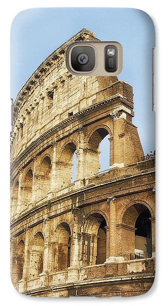 Galaxy Case featuring the photograph The Colosseum by Kim Andelkovic