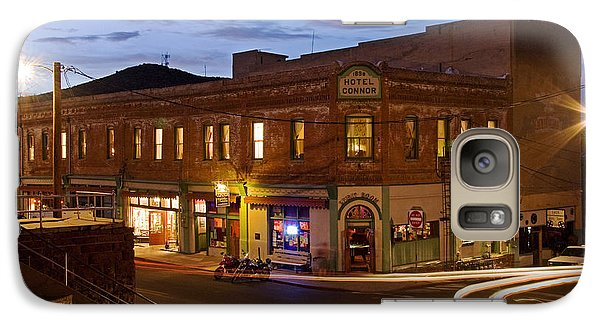 Galaxy Case featuring the photograph The Connor Hotel And Spirit Room by Ron Chilston