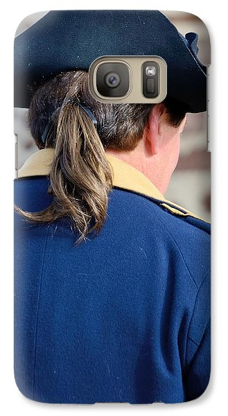 Galaxy Case featuring the photograph The Continental Officer by Steven Richman