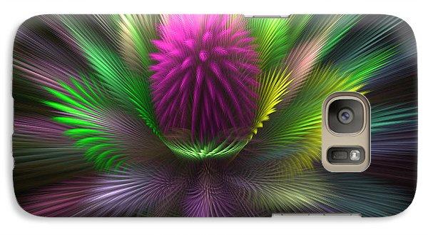Galaxy Case featuring the digital art The Core by Svetlana Nikolova