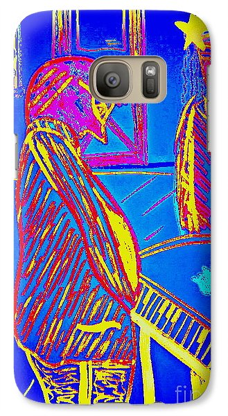 Galaxy Case featuring the drawing The Cotton Club by Bill OConnor