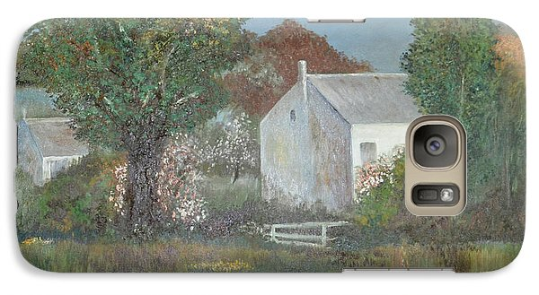 Galaxy Case featuring the painting The Country House by Suzette Kallen