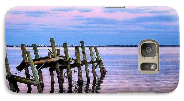 Galaxy Case featuring the photograph The Cove Dock by Brian Hughes