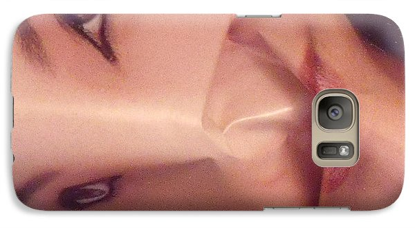 Galaxy Case featuring the photograph The Cover Girl by Lyric Lucas