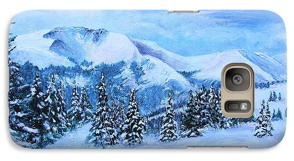 Galaxy Case featuring the painting The Covering by Margaret Bobb